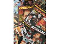 Kerrang magazines