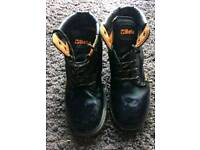 Beta steel toe capped boots