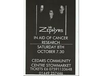 CHARITY NIGHT WITH LIVE MUSIC FROM THE ZEPHYRS