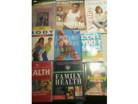 Health/fitness books