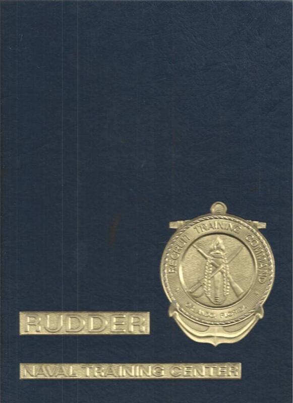 1977-1978 UNITED STATES NAVAL TRANING CENTER YEARBOOK, RUDDER, ORLANDO, FLORIDA