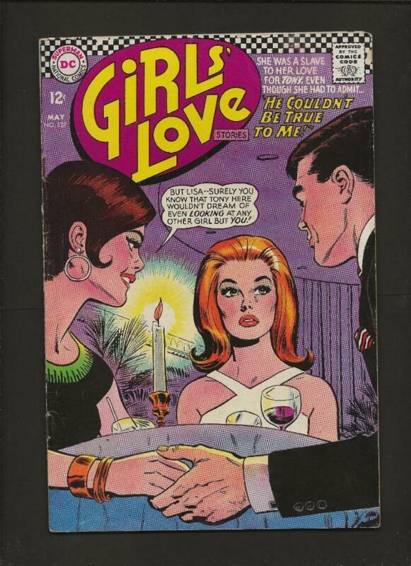 Girls Love Stories 127 VG/FN 5.0 High Definition Scans