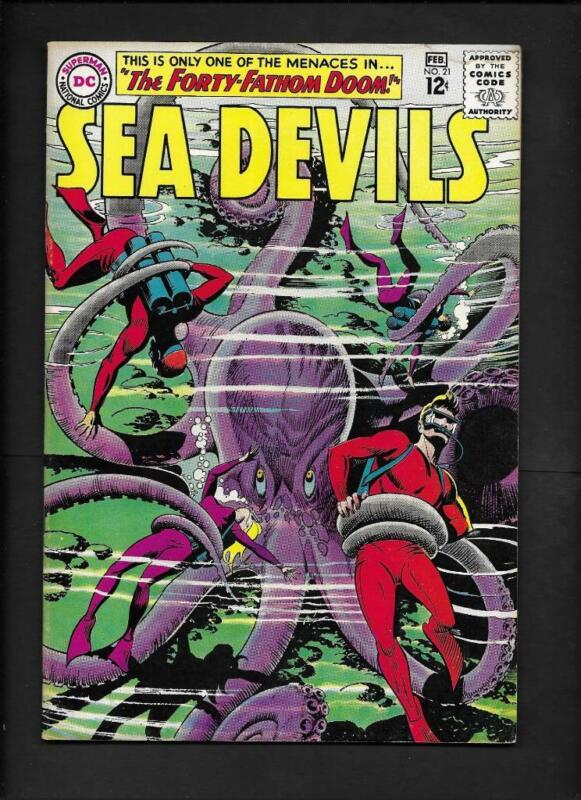 Sea Devils #21 FN/VF 7.0 High Resolution Scans