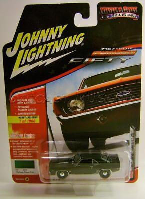 1969 69 Chevy Camaro Zl1 Green Hobby Fifty Camaro Johnny Lightning Diecast 2017