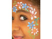 Fantastic Face Painting for your party or event! A reliable, professional service. Balloons too