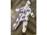 JOULES COSY BABY SUIT 12-18 months