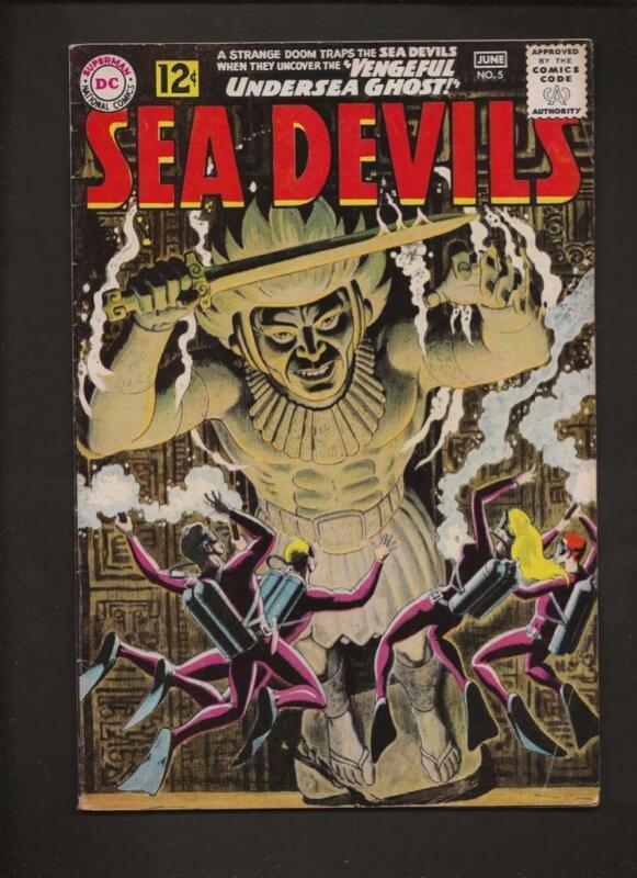 Sea Devils 5 VG+ 4.5 Hi-Res Scans