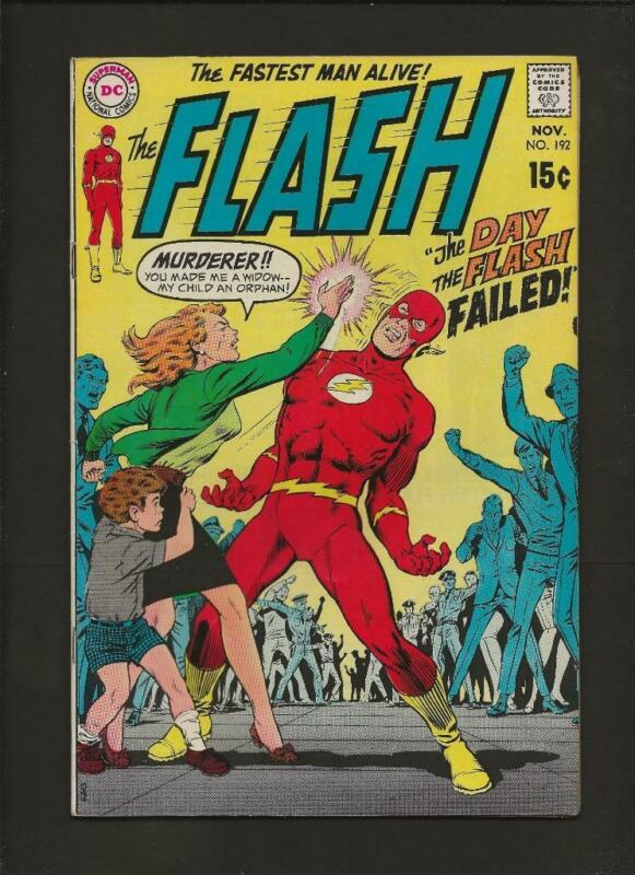Flash #192 VF+ High Res Scans