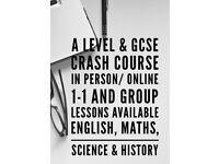 11+, KS2, KS3, KS4, GCSE + A LEVEL TUTOR (maths, english, science)