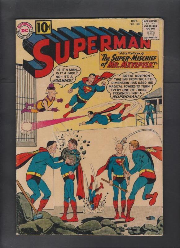 Superman 148 VG 4.0 Hi-Res Scans