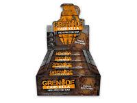 Grenade Carb Killa High Protein Bars - Fudge Brownie - 3 boxes = 36 bars