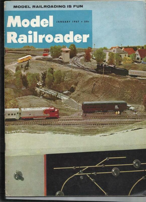 Model Railroader Jan 1967 SP 3