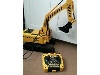 Remote control digger