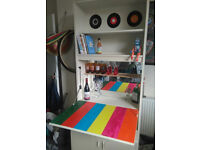 Pop Art Furniture, Combined Bookshelf and Drinks Cabinet, Bury area, Collection only