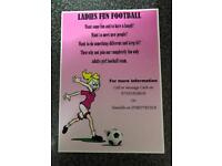 Ladies fun football
