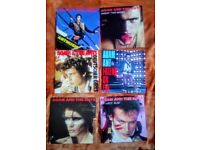 ADAM AND THE ANTS - SINGLES / COLLECTION / LOT OF 6 UK VINYL 7""