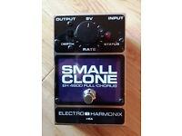 Electro Harmonix Small Clone Chorus Pedal + Free Marshall Bluesbreaker