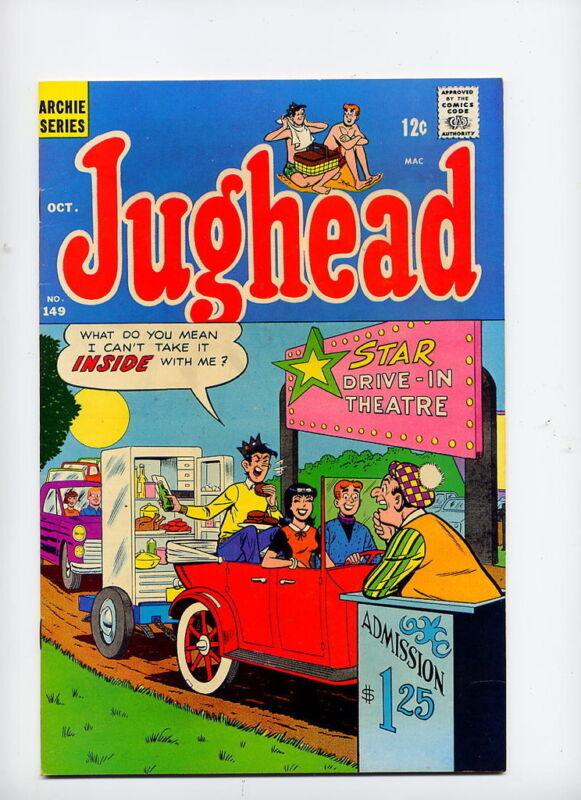 Jughead #149, 1967 Archie Publi;  very nice