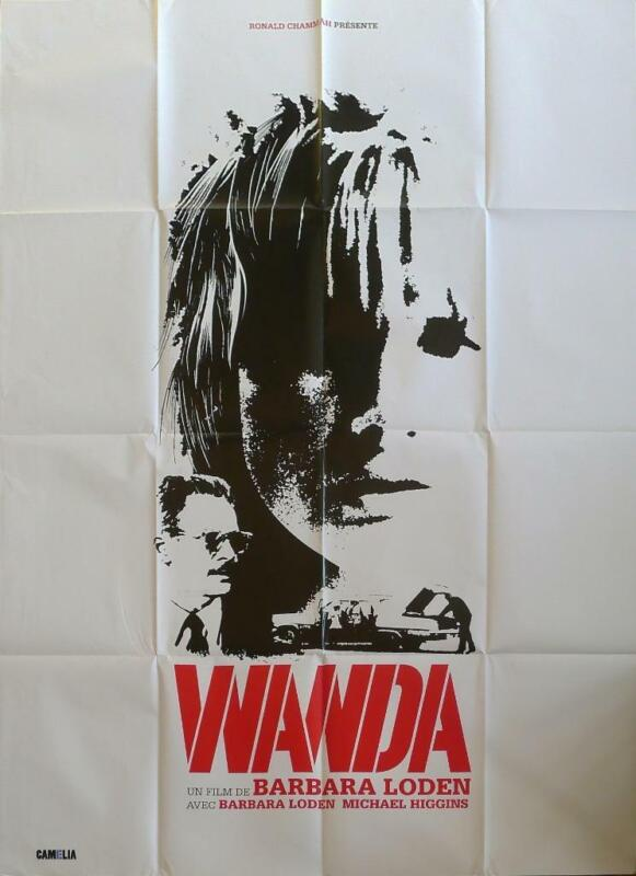 WANDA - BARBARA LODEN - REISSUE LARGE FRENCH MOVIE POSTER