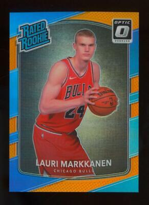 2017 Panini Donruss Optic Orange #159 Lauri Markkanen 164/199 RC Rookie