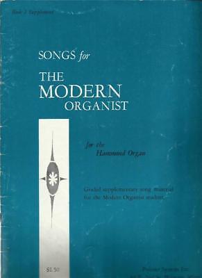 Songs For The Modern Organist Book #2 Hammond Organ Sheet Music 15 Tunes
