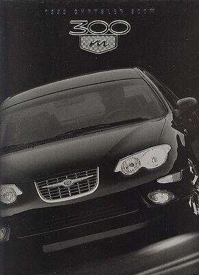 1999 Chrysler 300 M Dealer Sales Brochure