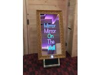 MAGIC MIRROR for hire / Led MR&MRS Letters / Led Dance Floors + more / Essex & London