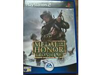 PS2 medal of honour frontline
