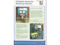 foldable abrasive blasting cabinet