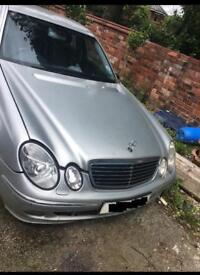 MERCEDES E CLASS E320 3.0 V6 DIESEL 2005 BREAKING FOR SPARES AND REPAIRS
