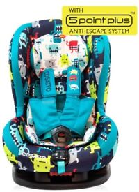 Cosatto Moova 2 (5 point plus) Car Seat Cuddle Monster 2 Design £70.00 COLLECTION ONLY