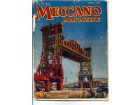 Pre-War Meccano Magazines