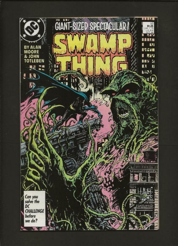 Swamp Thing 53 NM- 9.2 High Definition Scans