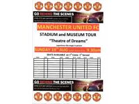 MAN UTD STADIUM & MUSEUM TOUR 19TH AUGUST