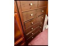 Dark brown Chest of drawers