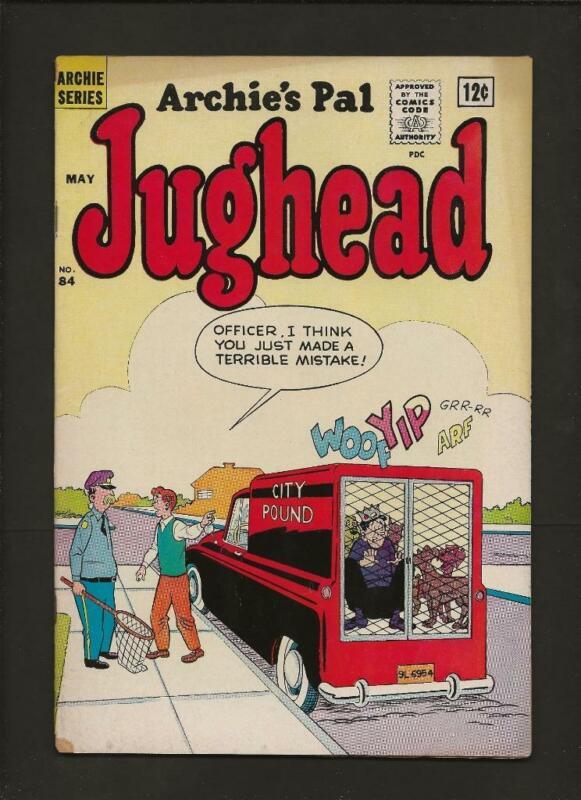 Jughead #84 VG+ 4.5 High Res Scans