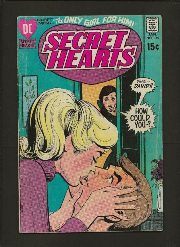 Secret Hearts 149 VG 4.0 High Definition Scans