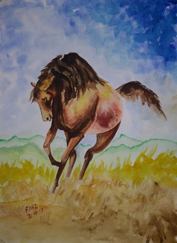 HAND MADE WATER COLOR PAINTING
