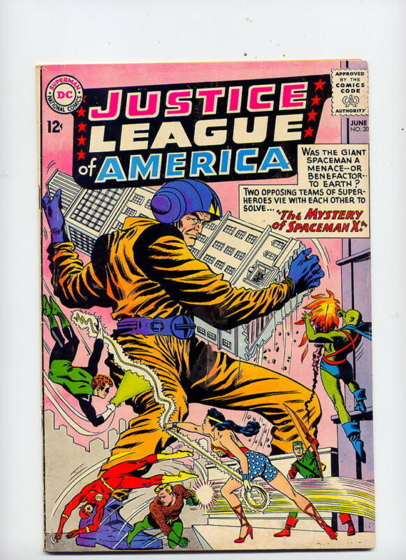 Justice League of America #20, 1963 DC