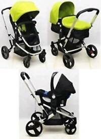 Mothercare xpedior 3in1 pushchair and car seat