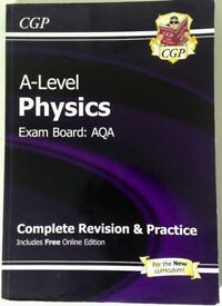 AS/A-level Physics AQA CGP Complete Revision and Practise with Free Online Edition