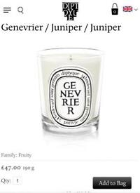 100% NEW diptyque candle 190g - Genevrier