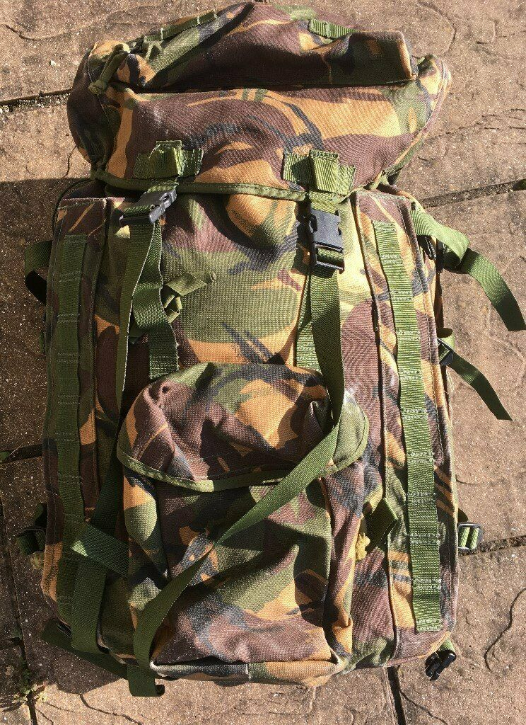British Army Short Back Plce Bergen In Dpm Temperate