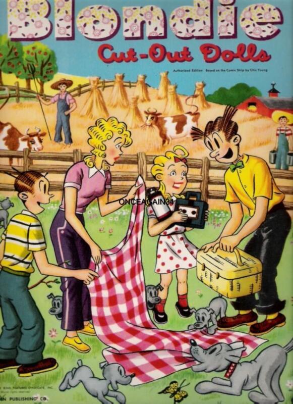 VINTAGE UNCUT 1957 ROCK HUDSON PAPER DOLLS~#1 REPRODUCTION~FABULOUS//SCARCE!