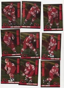 Lot Carte hockey 1995-96 Classic Women (A77)