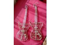 Hand made wire guitars x 2 £1 for both