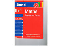 Bond Maths Assessment Papers 11+-12+ years unused