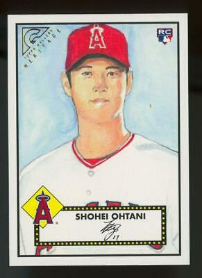 2018 Topps Gallery Heritage #H26 Shohei Ohtani RC Rookie