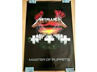 Metallica Poster Master of Puppets