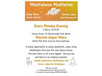 MEDITATION - WESTON SUPER MARE - every Monday